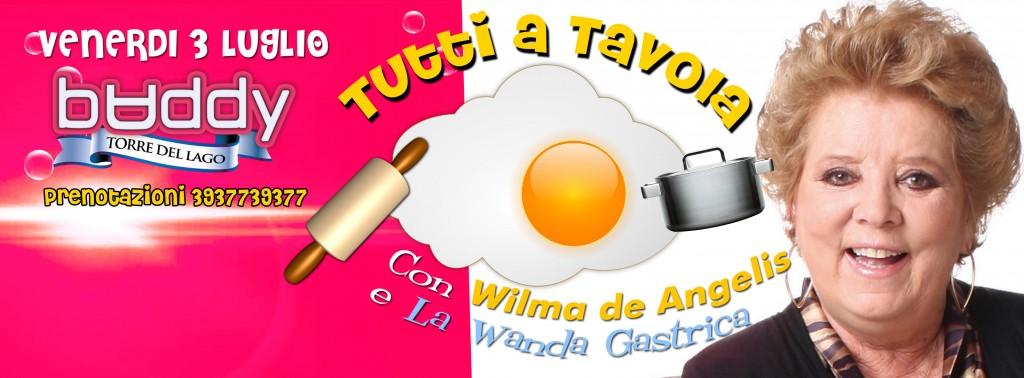 Special Dinner con Wilma de Angelis al BADDY @ BADDY | Torre del Lago Puccini | Toscana | Italia